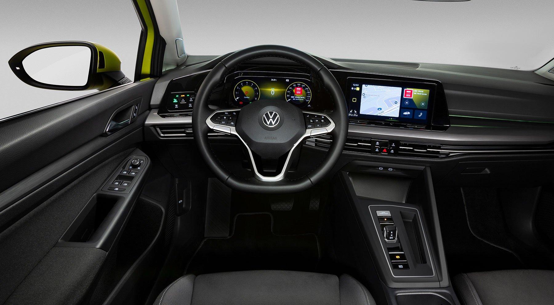 Первые официальные фото нового Volkswagen Golf 8
