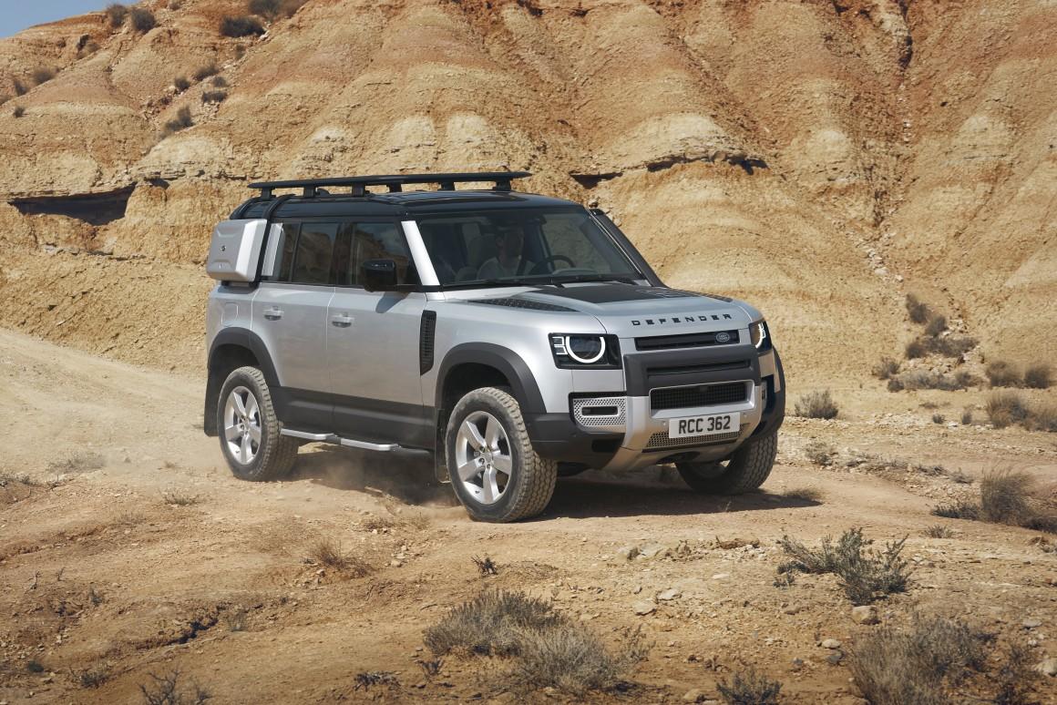 Объявлены украинские цены на новый Land Rover Defender