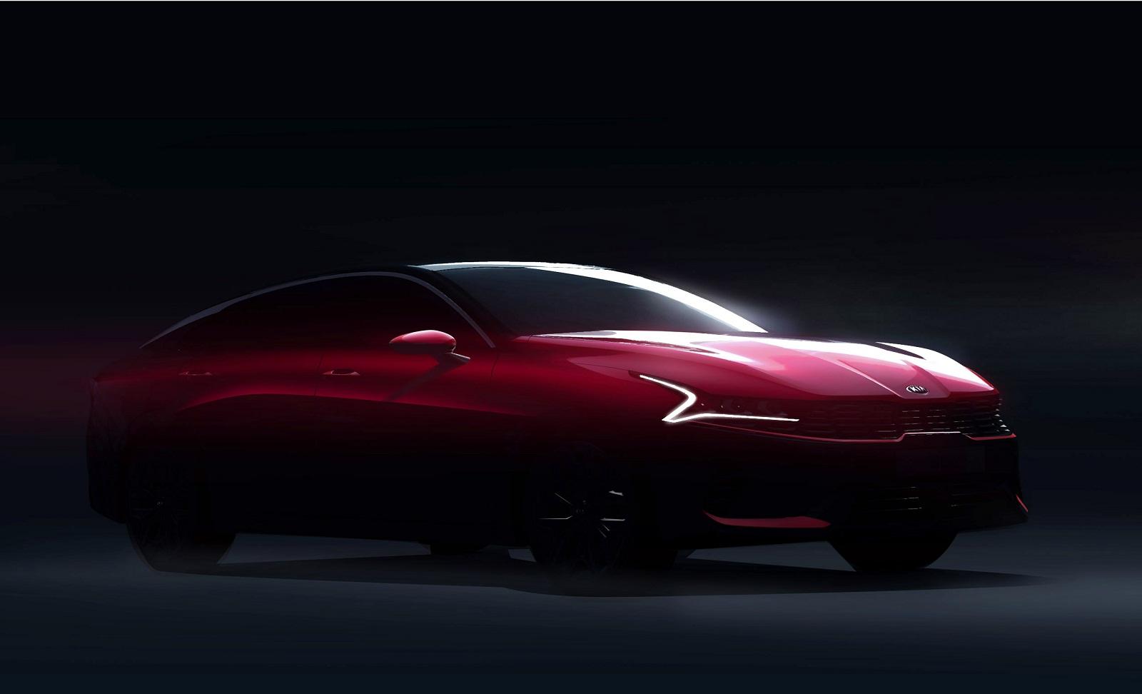 Тебя прям не узнать: первые изображения новой Kia Optima 2020