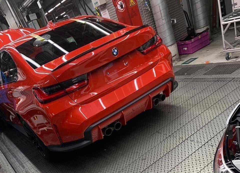 Новый BMW M3 шокировал огромными ноздрями