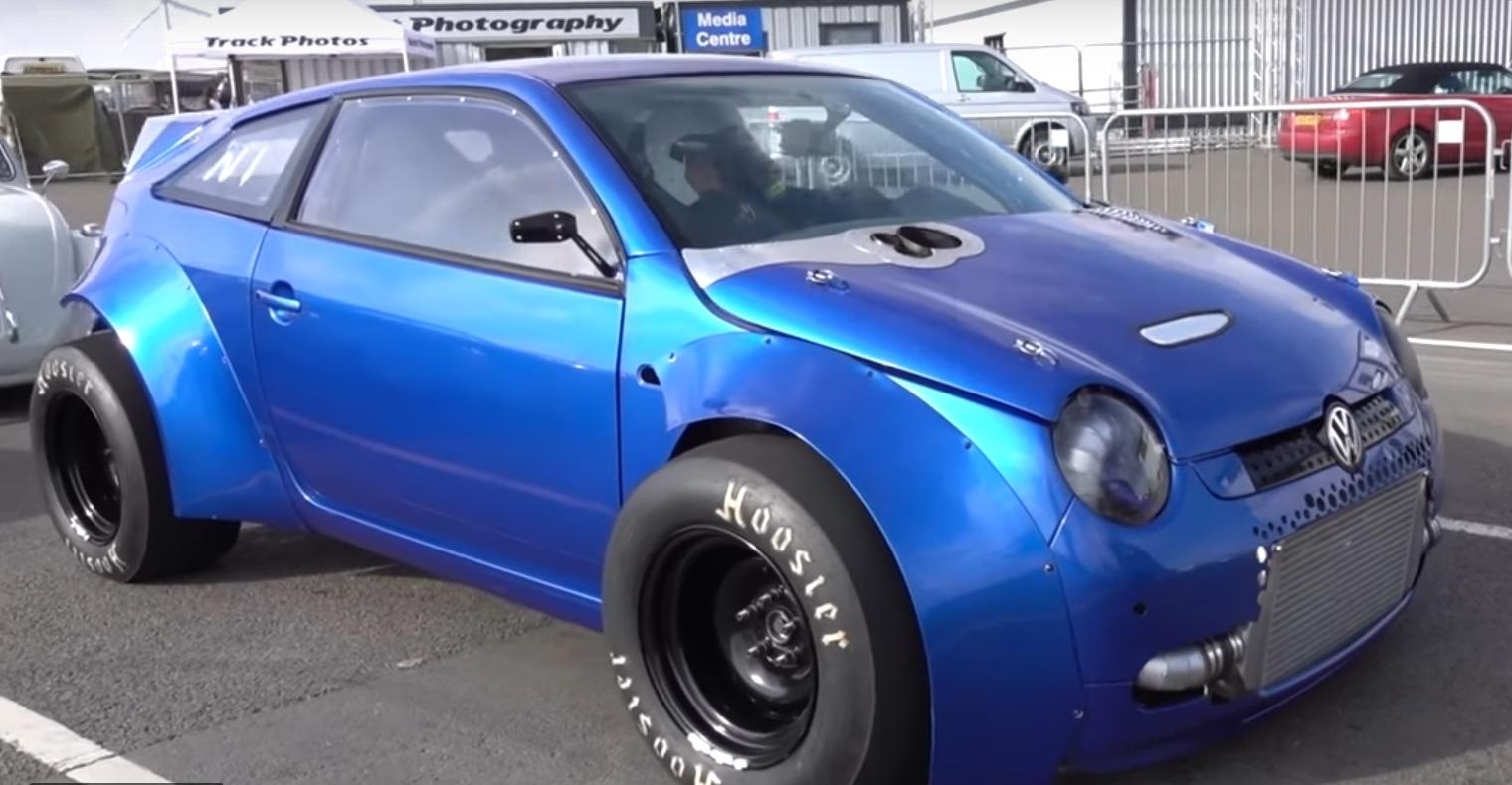 Миниатюрный Volkswagen превратили в корч с характеристиками гиперкара