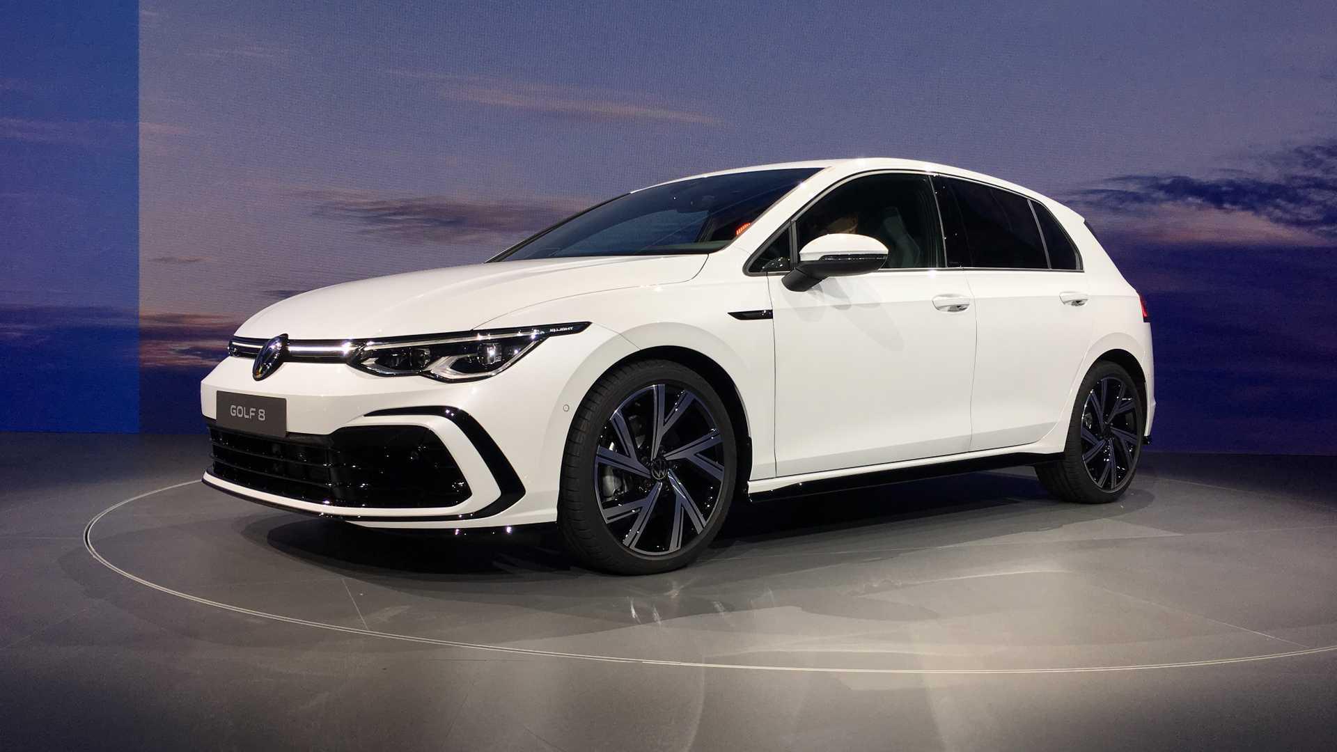 Живые фото и обзор нового Volkswagen Golf 8 2020