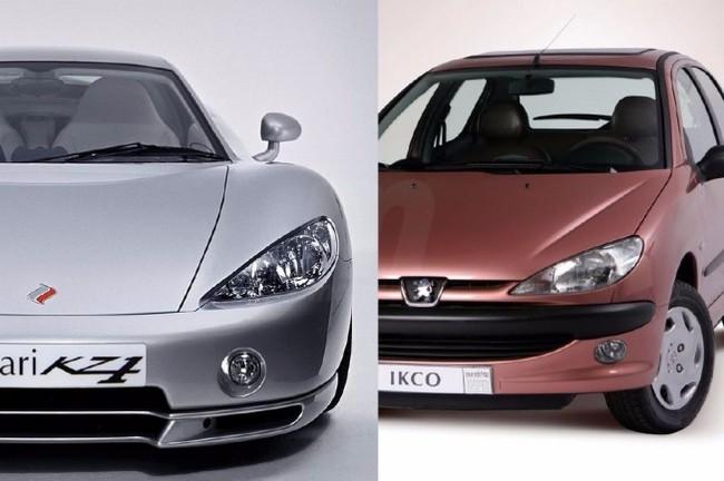Что общего у хэтчбека Peugeot 206 и суперкара Ascari KZ1