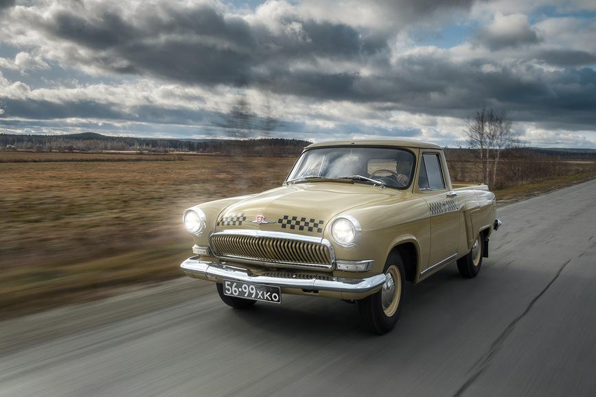 Обнаружен уникальный пикап Волга украинского производства