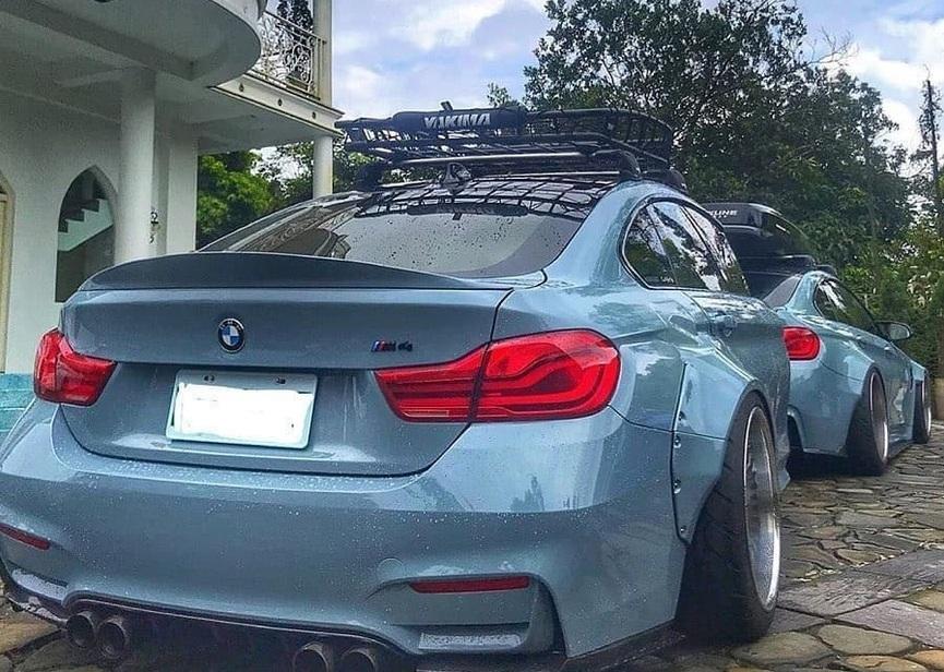 Как выглядит самый крутой прицеп для BMW с тюнингом