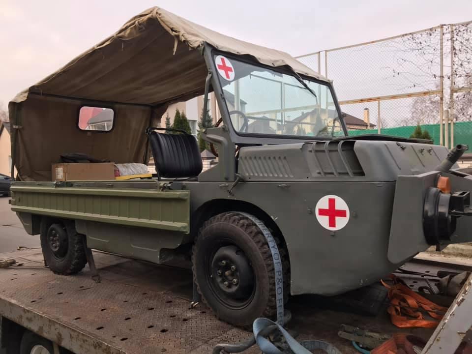 В Украине восстановили уникальный военный внедорожник