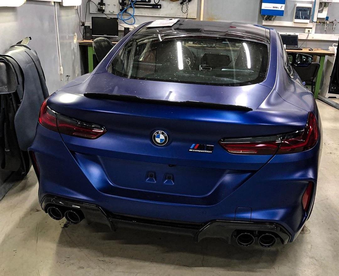 В Украине появилось самое крутое купе BMW M8