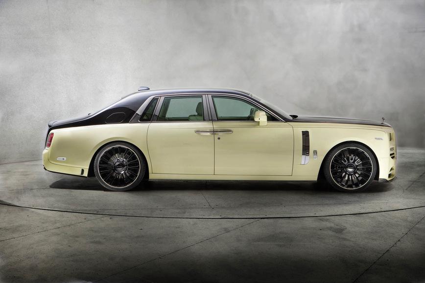 Самый шикарный тюнинг Rolls-Royce для звезды