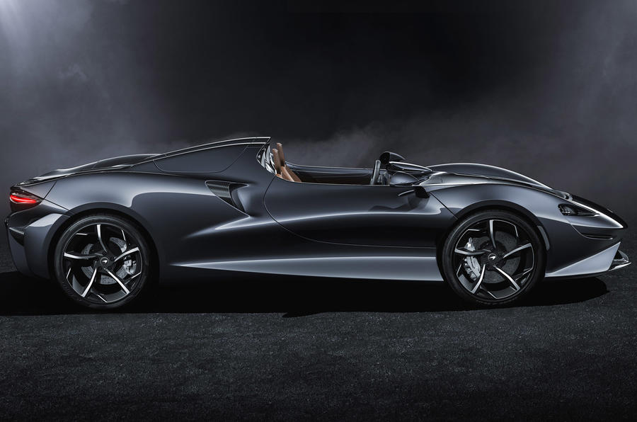 Самый быстрый суперкар McLaren не нуждается в лобовом стекле