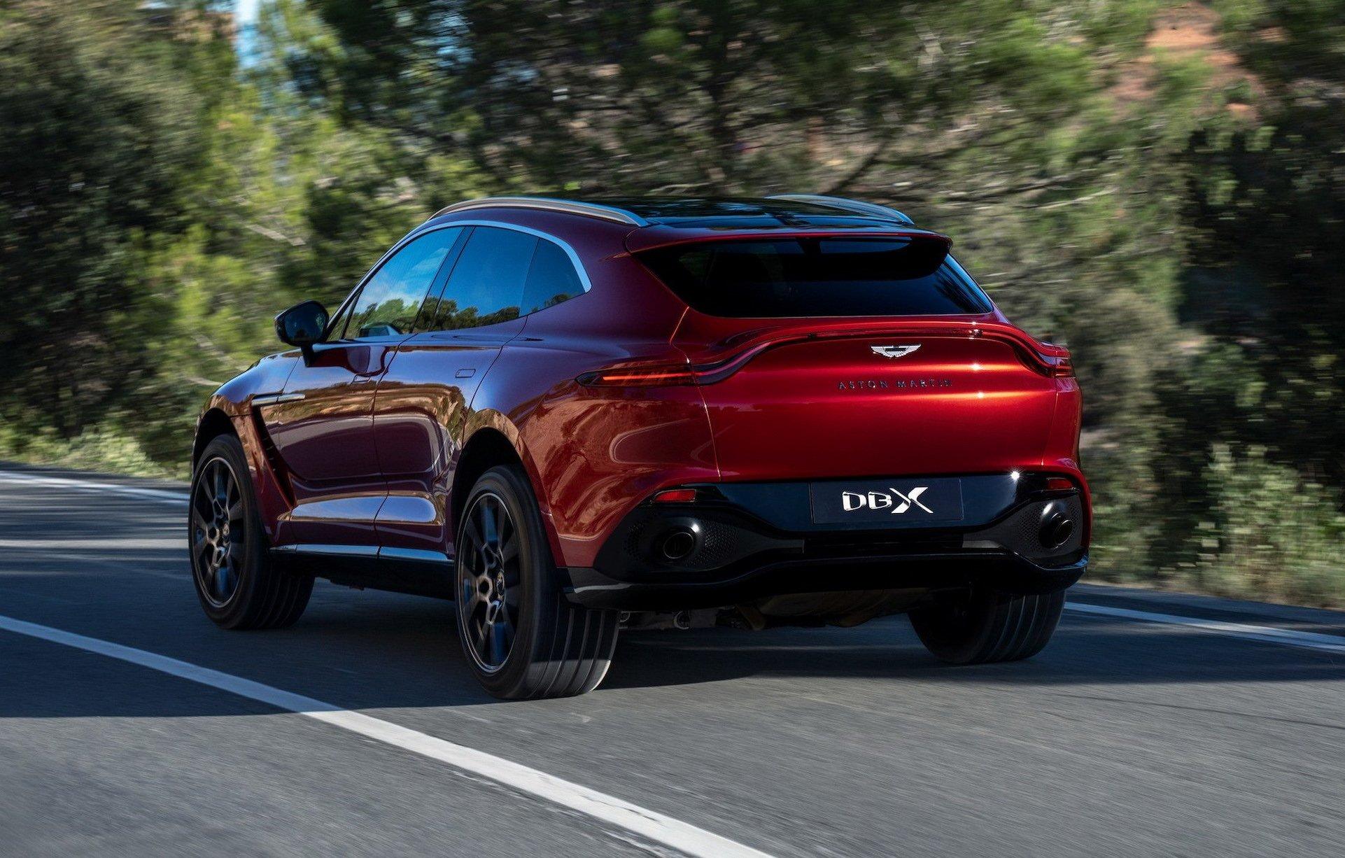 Aston Martin представил конкурента Bentley Bentayga и Lambo Urus