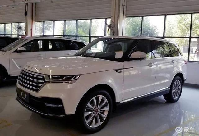 Китайский клон Range Rover оценили в 10 раз дешевле оригинала