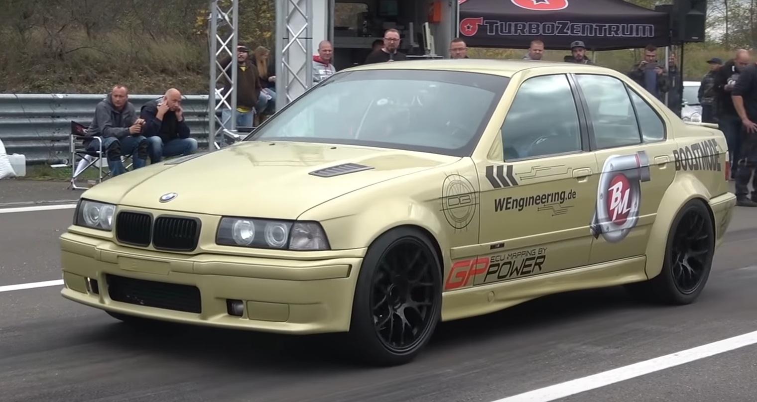 Как едет BMW 3 E36 с характеристиками суперкара (видео)