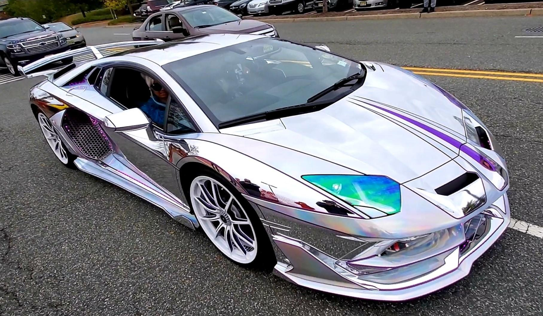 Самый странный и необычный тюнинг Lamborghini Aventador