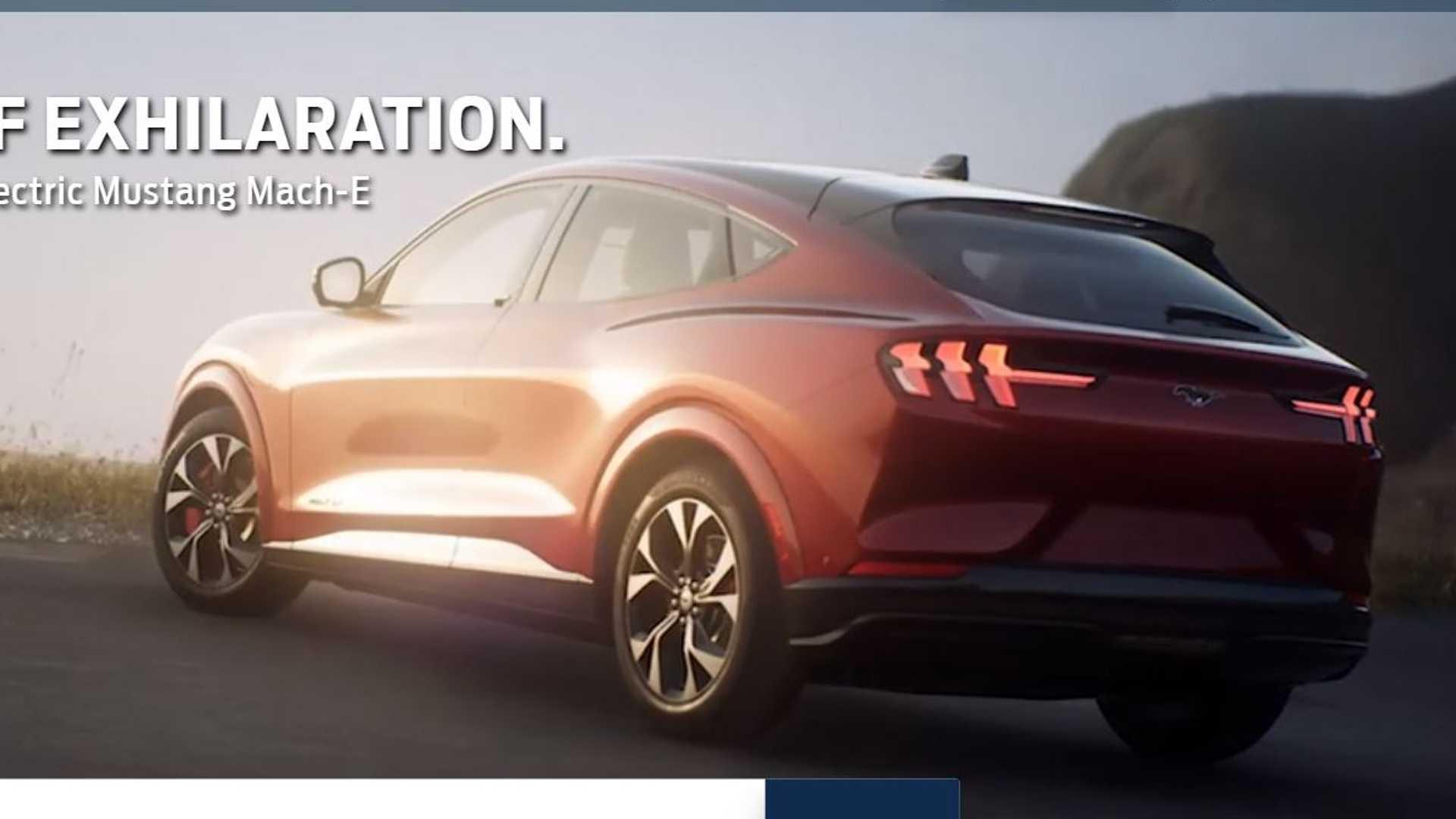 Первый электрокроссовер Ford выглядит как Mustang на стероидах