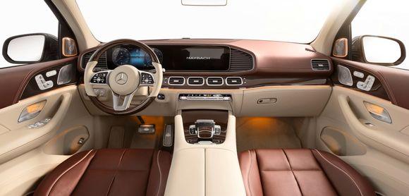 Роскошный кроссовер Mercedes-Maybach полностью рассекречен