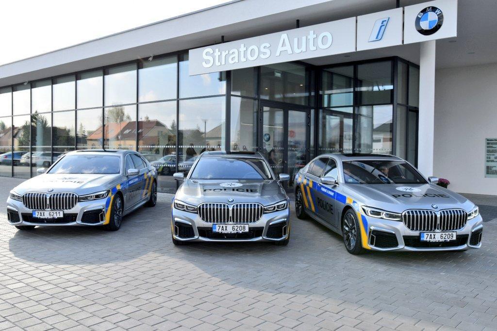 Новейшая семерка BMW стала на службу в полиции
