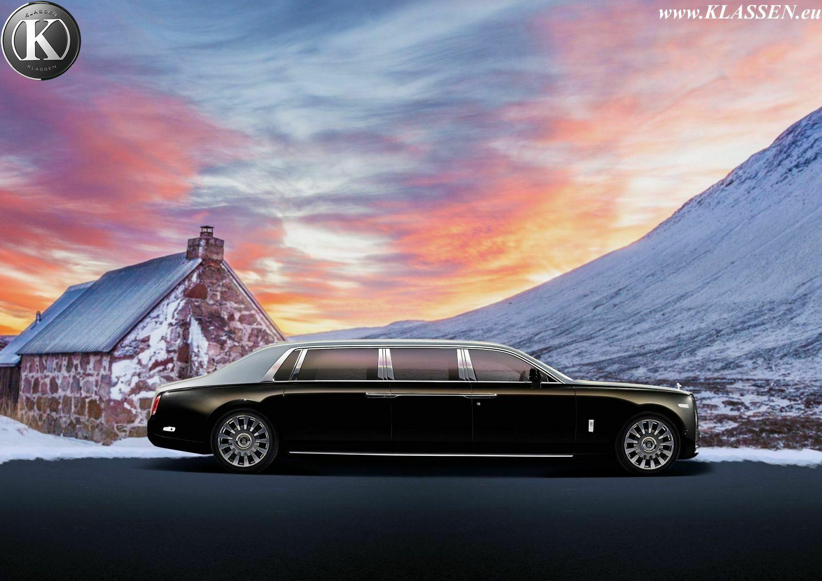 Олигархам на заметку: представлен самый невероятный лимузин Rolls-Royce