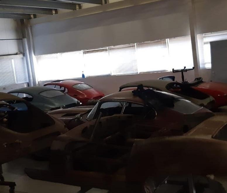 Коллекцию редких Jaguar обнаружили в очень неожиданном месте
