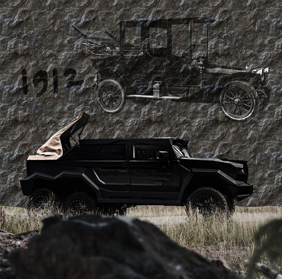 И это не Гелик: рассекречен самый дорогой в мире шестиколесный авто