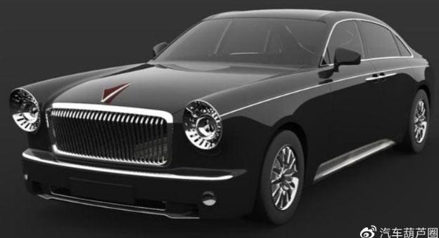 Китайский Rolls-Royce рассекречен на первых изображениях