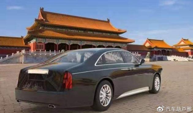 Китайский Rolls-Royce за $900 тысяч показался на первых изображениях
