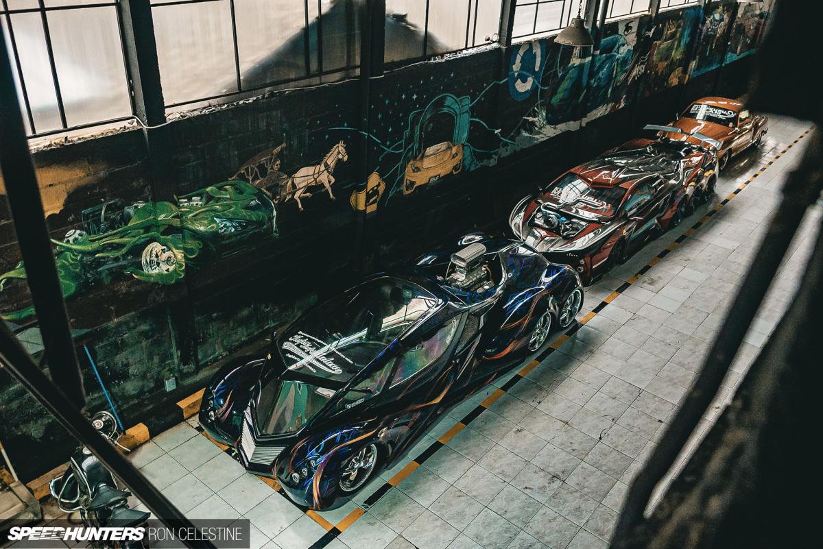 Восьмиколесный суперкар и другие фантастические авто коллекции шамана