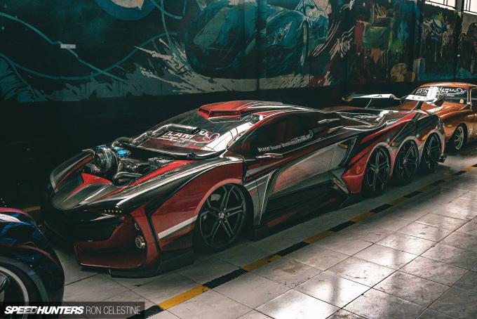 Восьмиколесный суперкар и другие фантастические авто коллекции