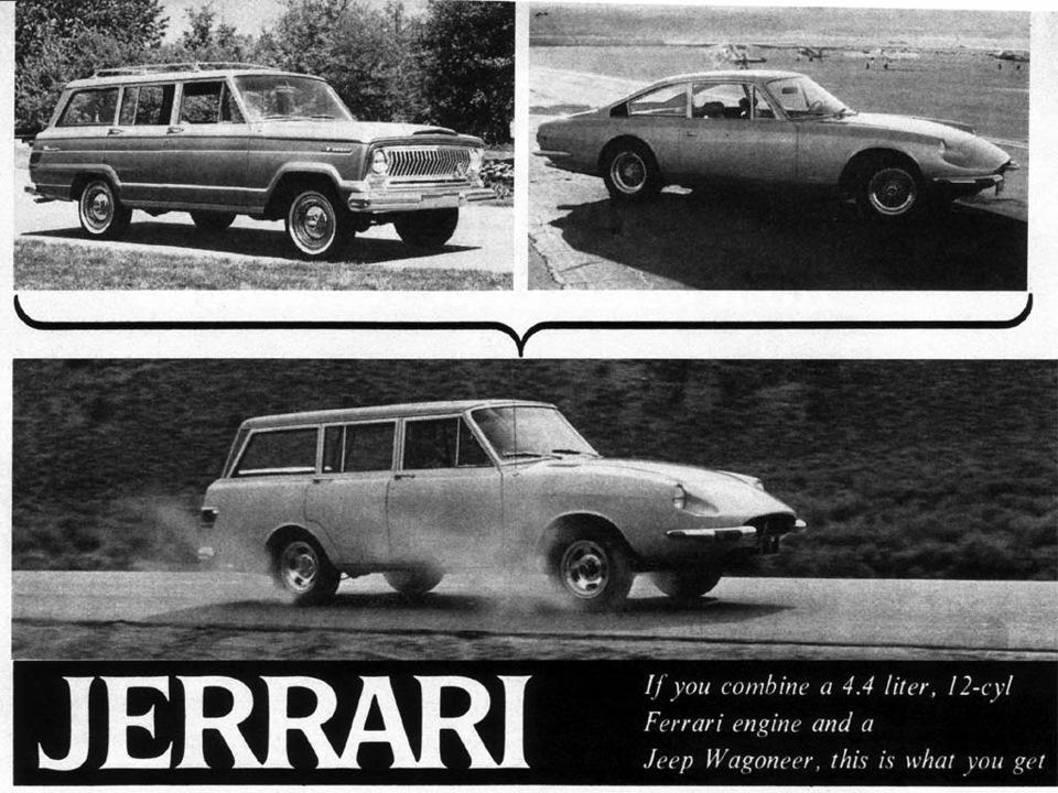 Первый внедорожник Ferrari, о котором никто не знал