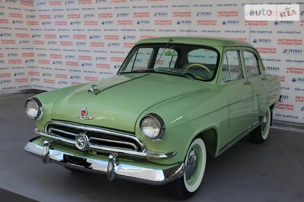На продажу выставлена редчайшая Волга ГАЗ 21 с автоматом
