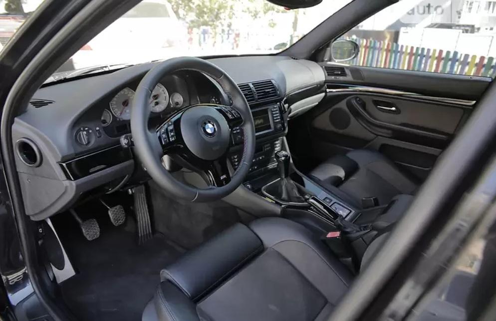 В Киеве продают идеальную BMW M5 E39 по цене новой пятерки БМВ