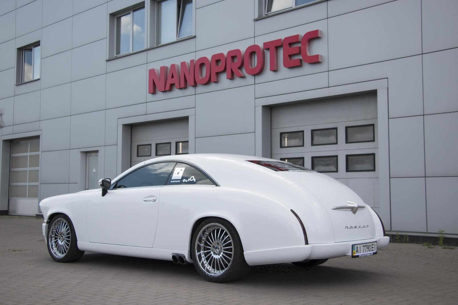 В Украине продают уникальный автомобиль ручной сборки
