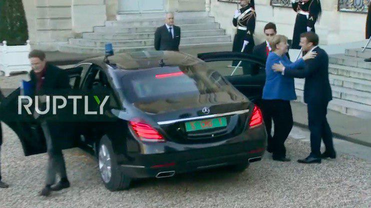 Нормандская встреча: на каких авто приехали участники саммита