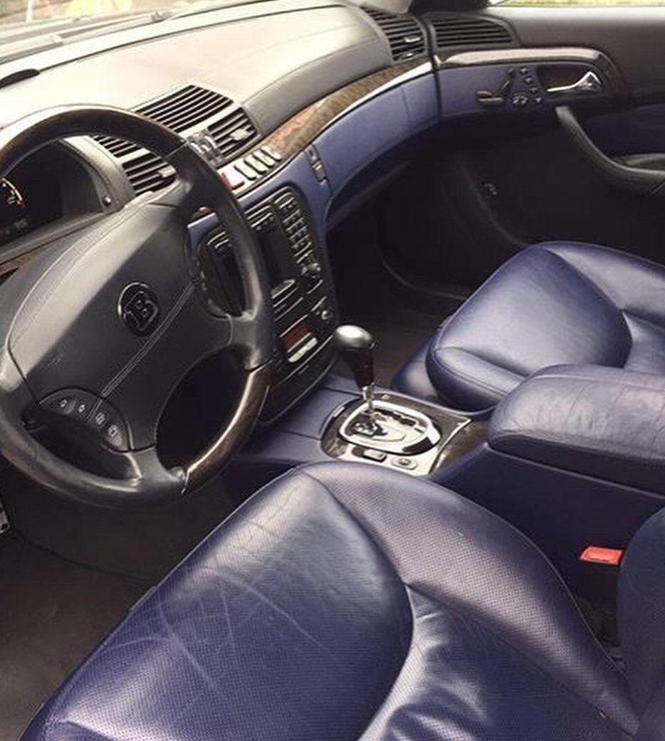Редкий Mercedes S-Class Brabus продают по цене Дастера