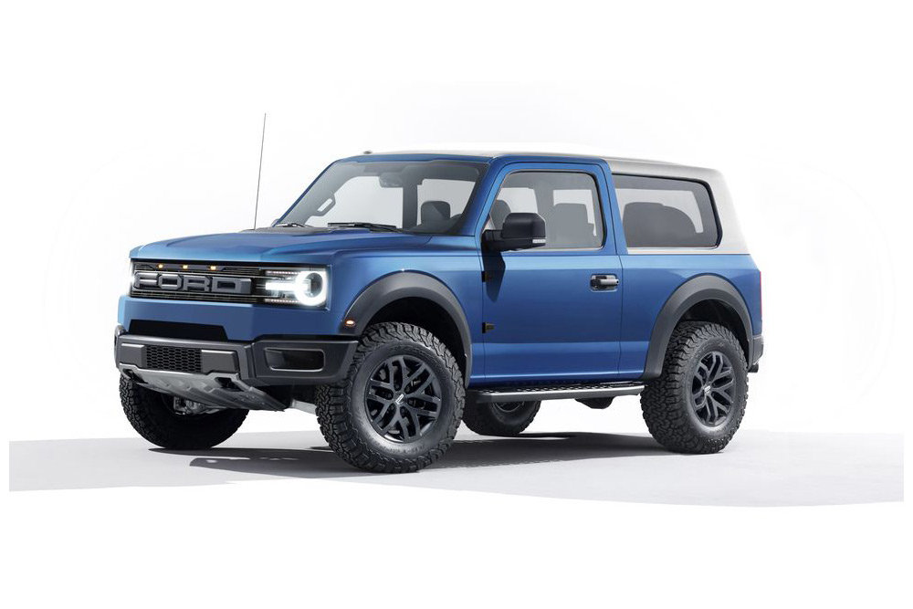 Ford Bronco 2020 — каким будет конкурент Jeep Wrangler