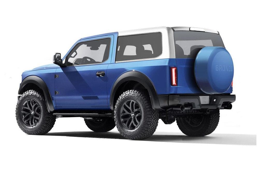 Ford Bronco 2020 - каким будет конкурент Jeep Wrangler