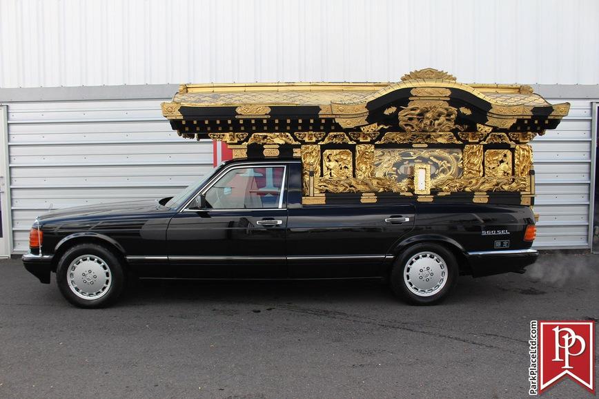 По богатому: как выглядит самый роскошный в мире катафалк