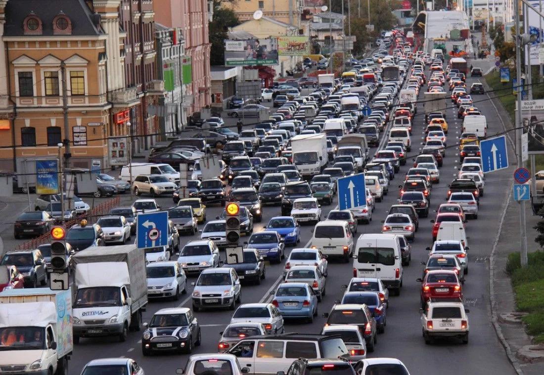 В Киеве впервые за 28 лет измерят объем трафика на дорогах