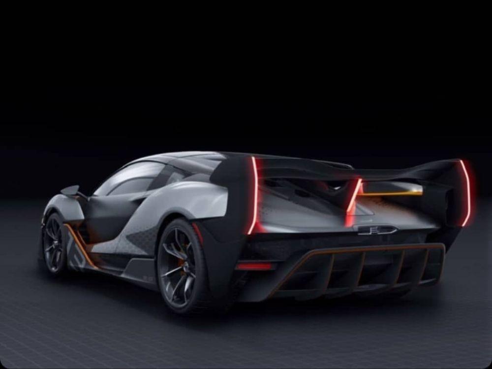 Самый экстремальный суперкар McLaren рассекречен на официальных фото
