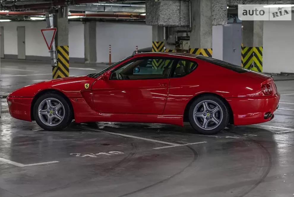 В Украине выставили на продажу самую многострадальную Ferrari