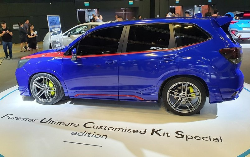Subaru назвала заряженный Forester матерной аббревиатурой