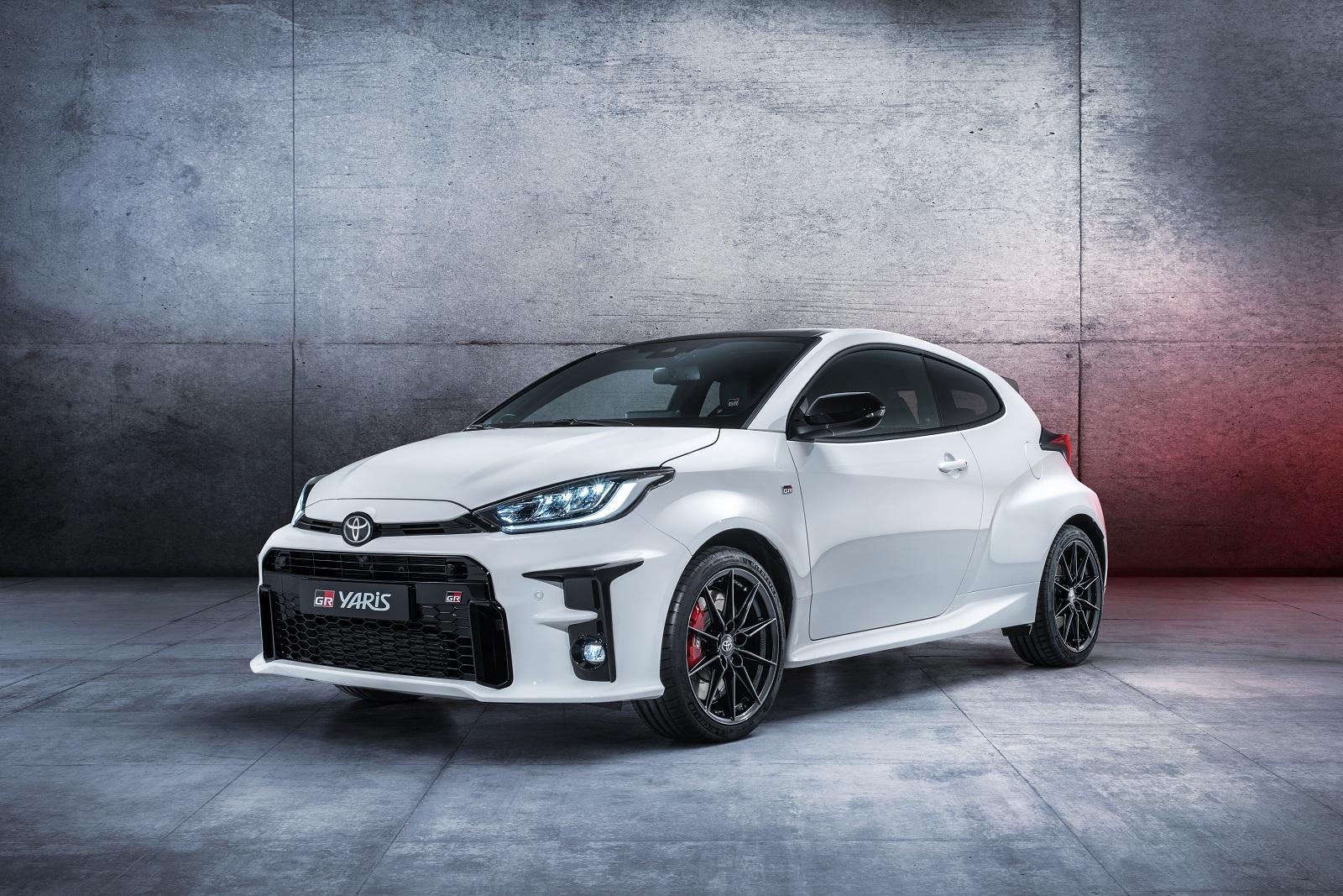 Toyota показала самый экстремальный хот-хэтч современности
