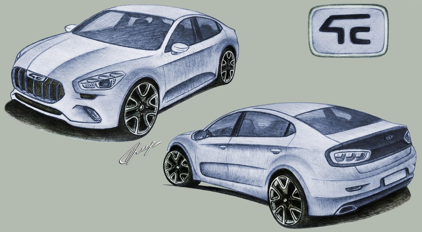 Украинцы разрабатывают яркий и недорогой электромобиль