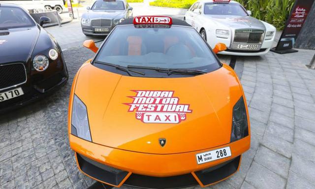 В Дубае появилось бесплатное такси из Bentley, Ferrari и Lamborghini!
