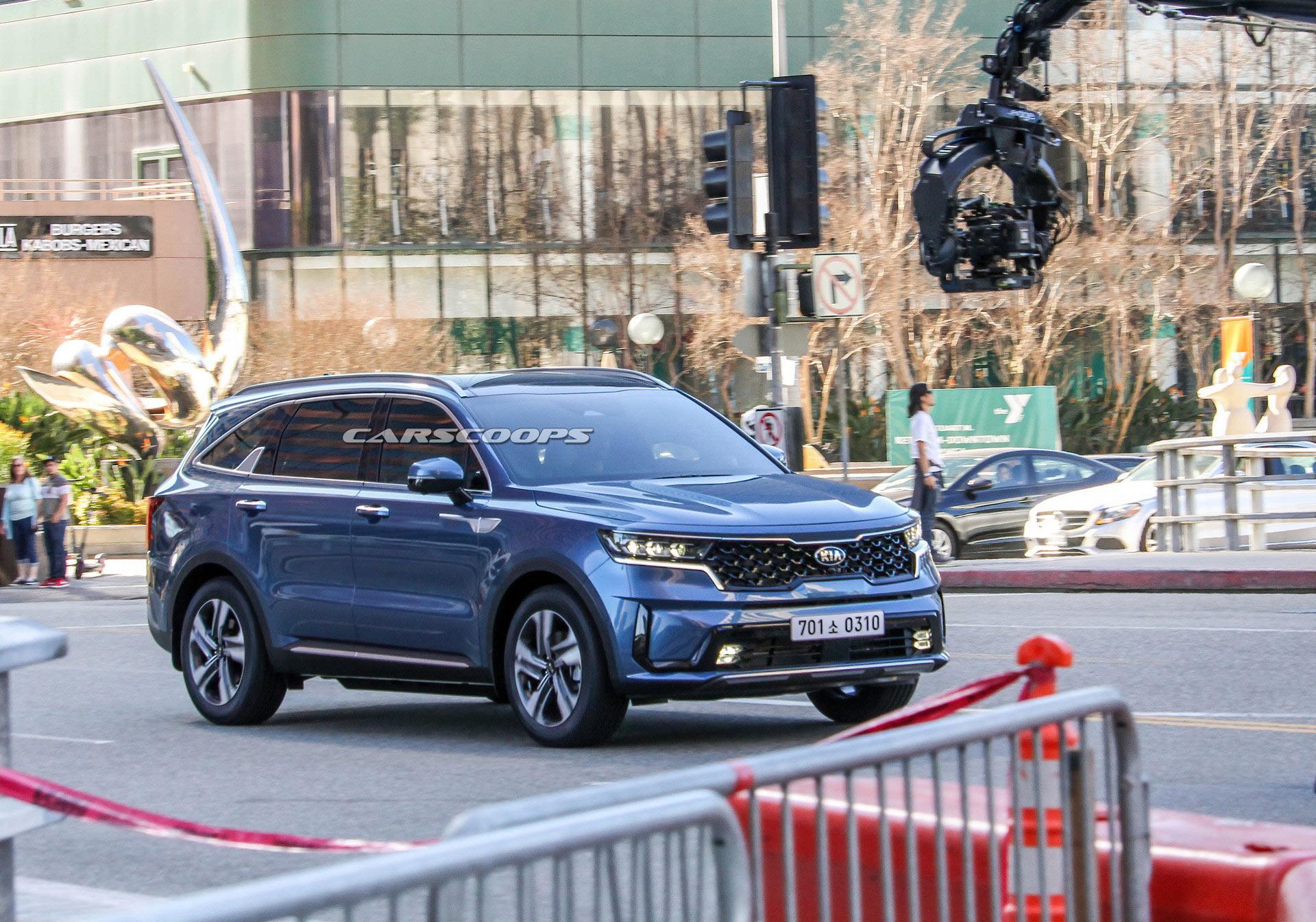 Тебя прям не узнать: новый Kia Sorento 2020 полностью рассекречен