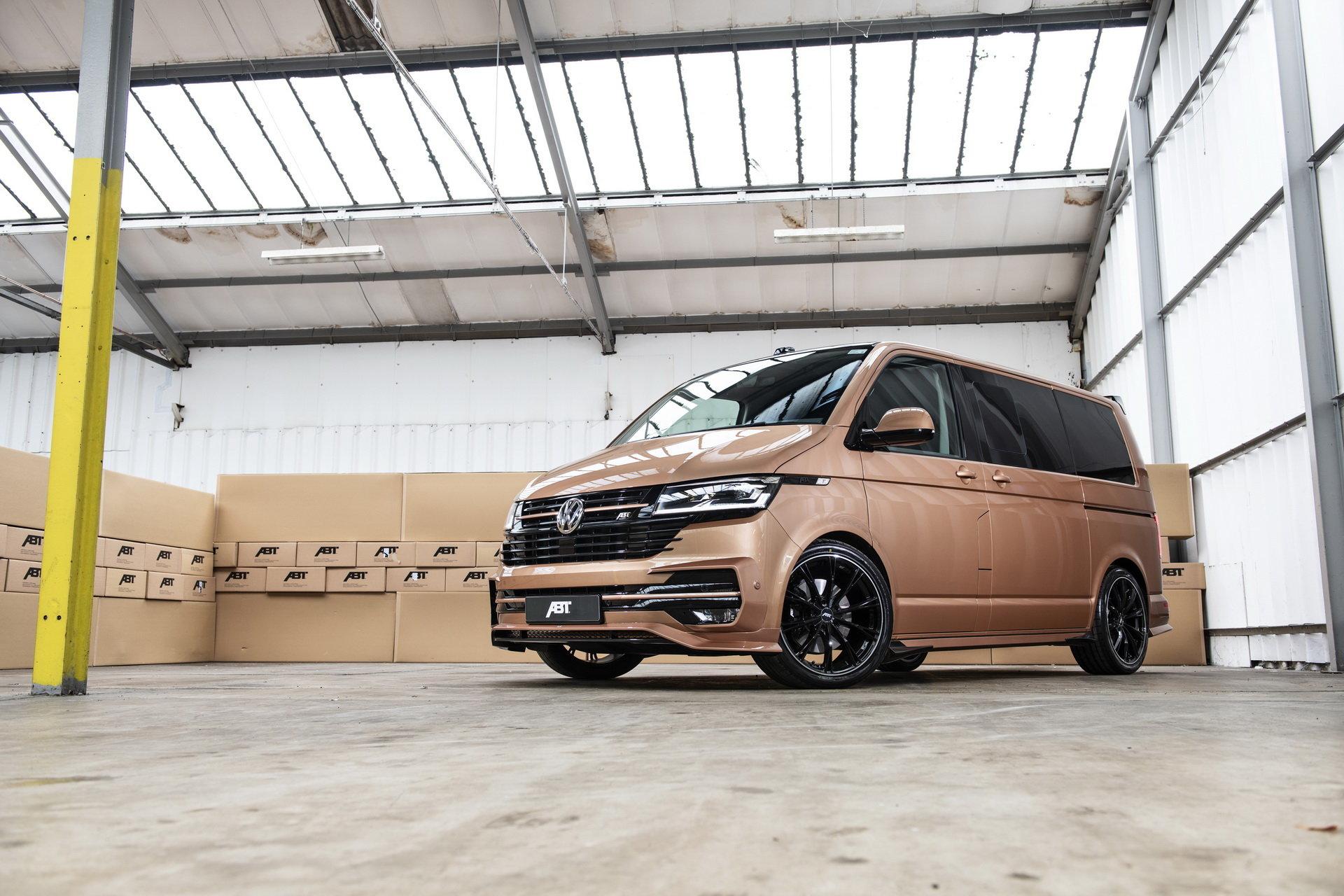 Новый Volkswagen T6 получил впечатляющий тюнинг от Abt
