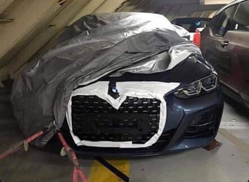 Новейшее купе BMW удивило громадными ноздрями