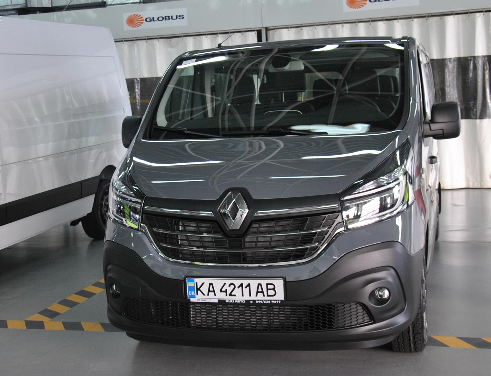 В Украине представили новые Renault Trafic и Master