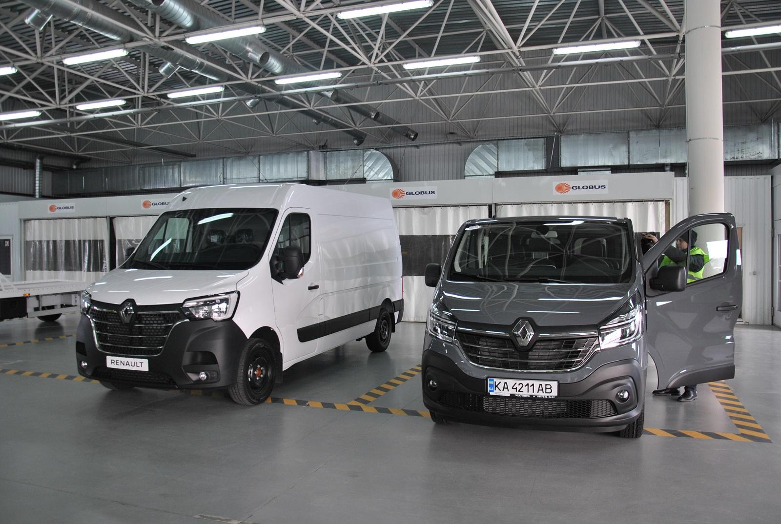В Украине представили новые коммерческие модели Renault