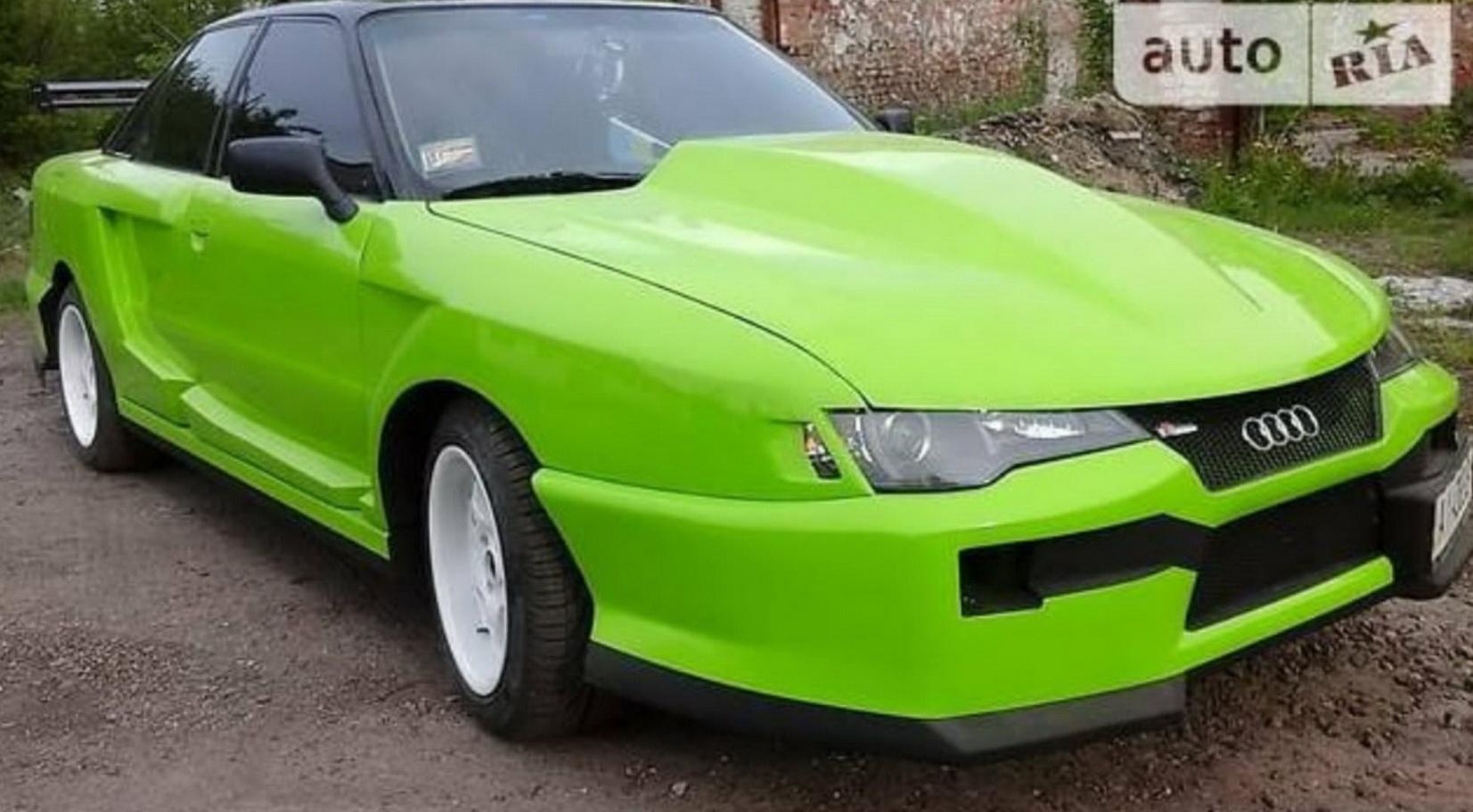 Странный украинский тюнинг Audi впечатлил иностранцев