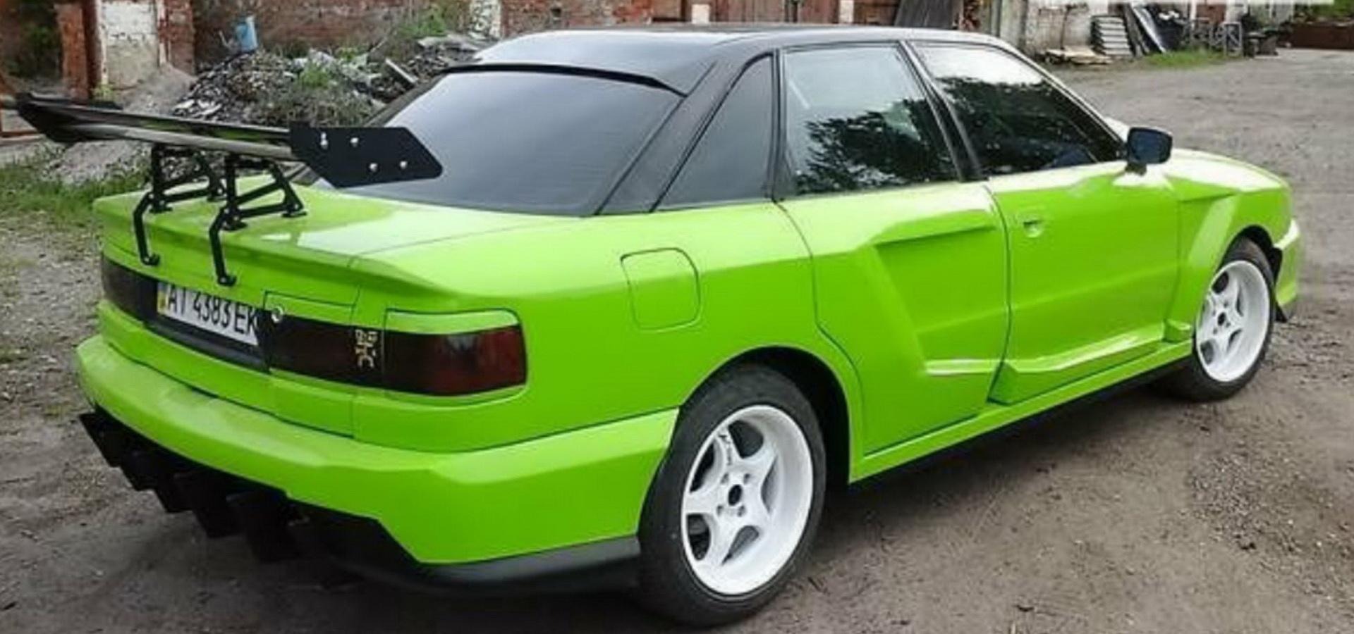 Иностранцев впечатлил украинский тюнинг Audi